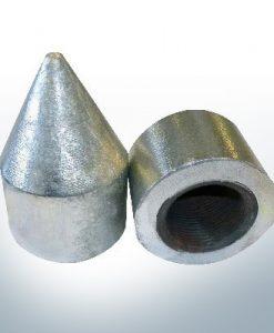 Écrous borgnes 1 1/4'' tube (Zink) | 9447