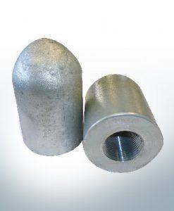 Tube conique pour anode d'extréavecé d'arbre 1'' (Zink) | 9449